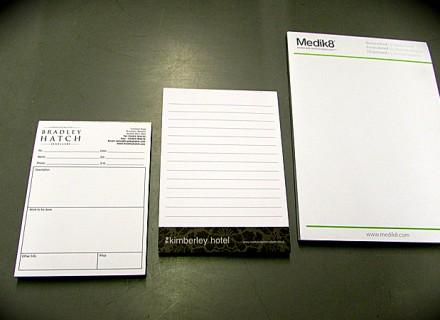 online printed pads