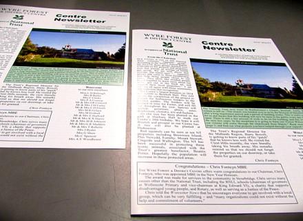 online printed newsletters